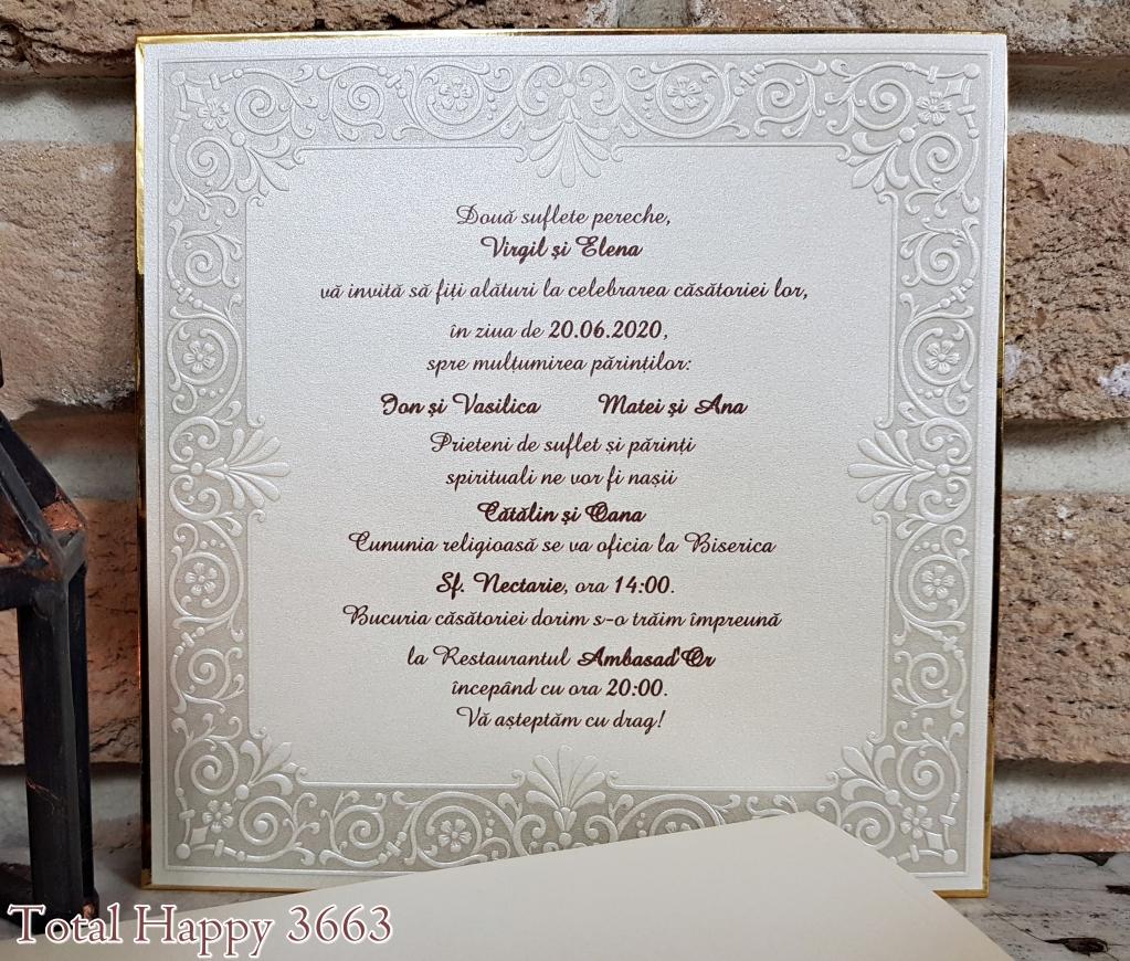 Invitatii De Nunta 2018 In Satu Mare Prin Salon Bianca